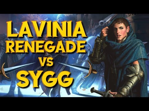 Jolt - Commander - Lavinia, Azorius Renegade vs Samut/Sygg