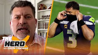 Russell Wilson is partially to blame for Seahawks dilemma, J.J. Watt — Schlereth | NFL | THE HERD