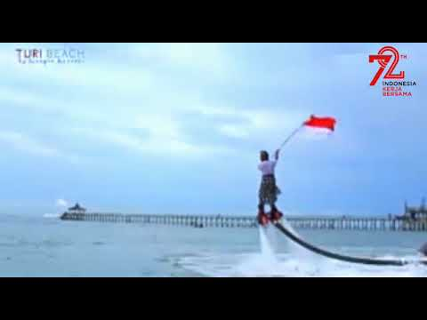 From Turi Beach Resort Batam Island Indonesia For Indonesia's Independence Day