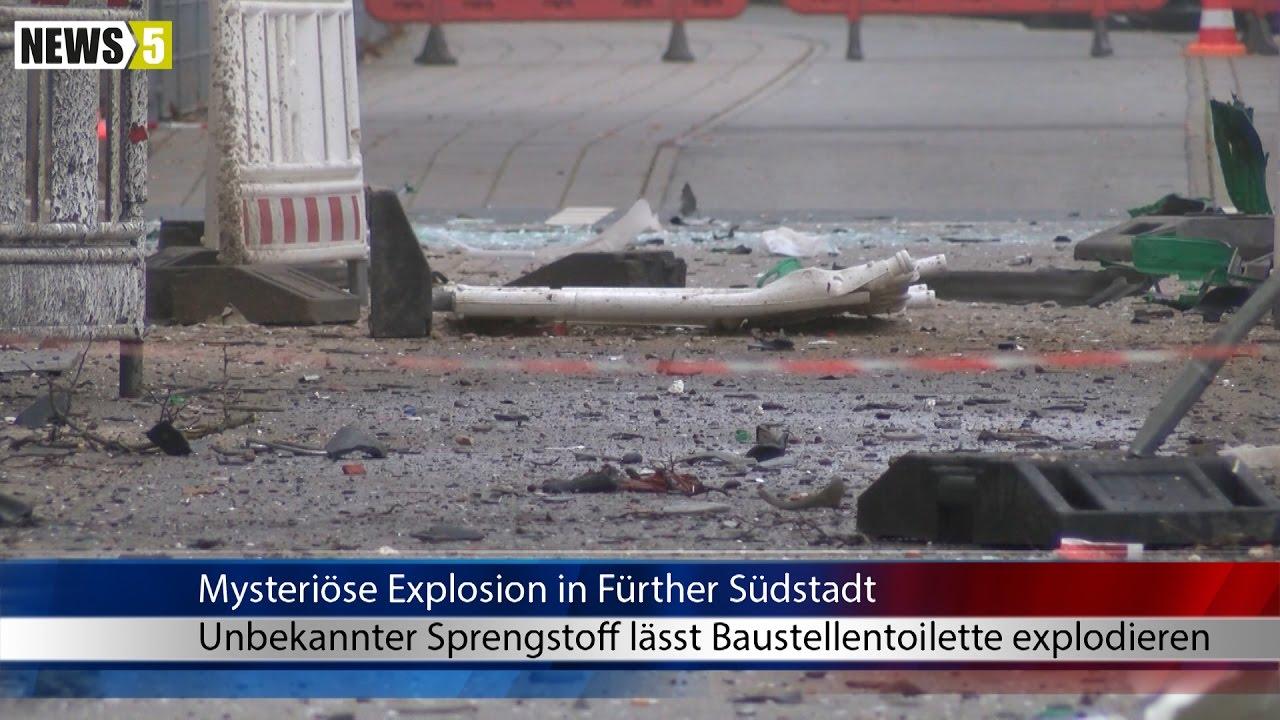 18.12.2016 (FÜ) Mysteriöse Explosion in Fürther Südstadt