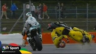 VIdeo Detik-detik Pembalap Moto2 Luis Salom Tewas di Sirkuit Catalunya 03/06/2016