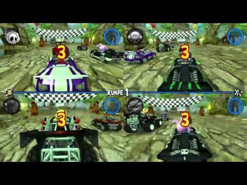 Let's Play Beach Buggy Racing Stumpf is Trumpf!