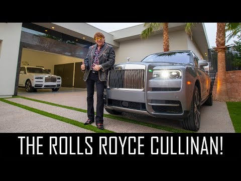Chauffeured in a ROLLS ROYCE CULLINAN!