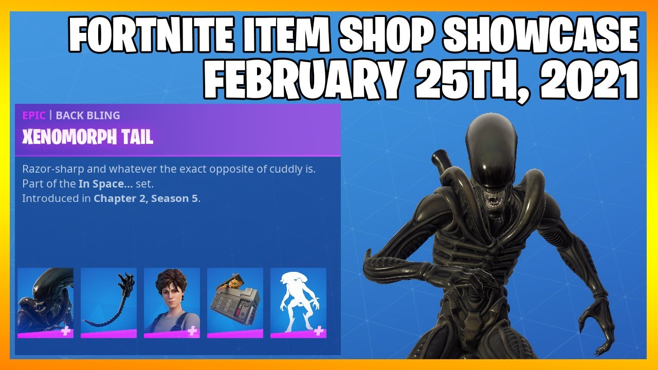 Fortnite Item Shop *NEW* ALIEN BUNDLES! [February 25th, 2021] (Fortnite Battle Royale)