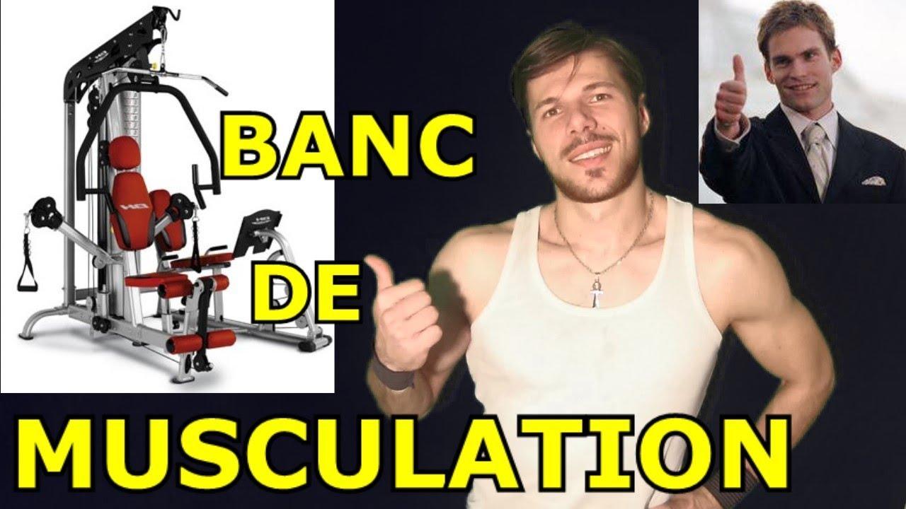 Le Banc De Musculation La Meilleure Machine Pour Se Muscler