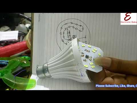 Complete Technical Knowledge of Led Bulb Assembling Hindi!! DIY