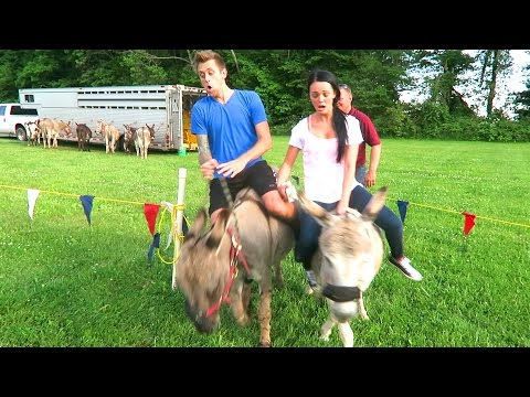 Thumbnail: INSANE DONKEY RACING!!