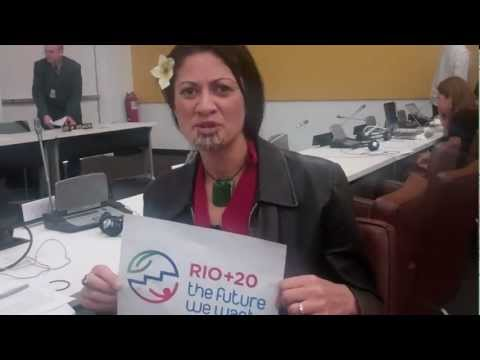 The Future I Want - Cathrine Davis, Lawyer, UN Forum on Indigenous Issues 2012