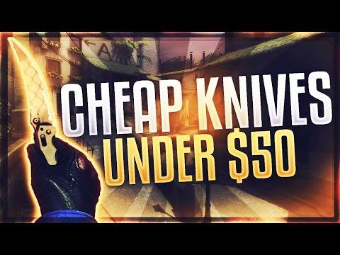 CSGO BEST CHEAP KNIVES UNDER $50 (CHEAPEST CSGO KNIVES)