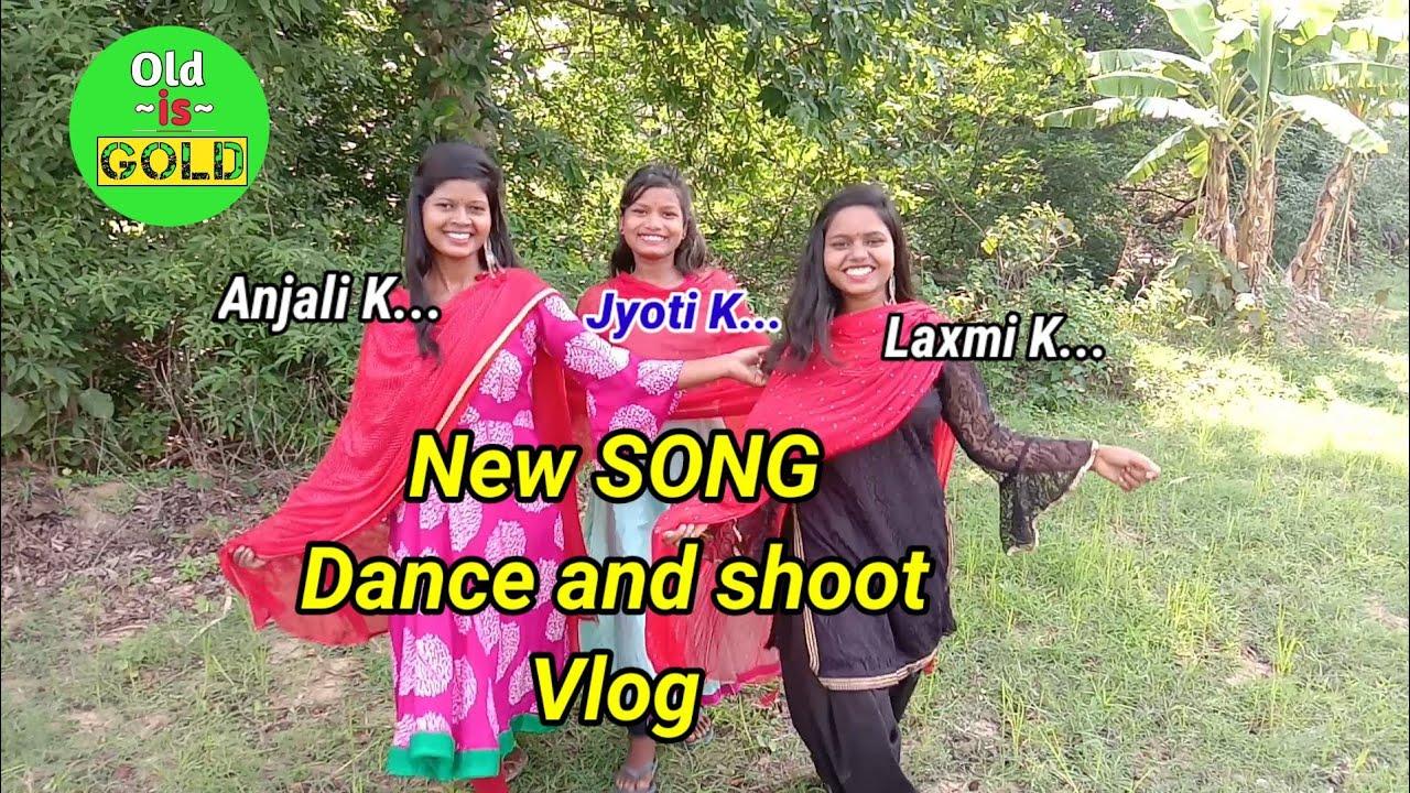 Download My vlog video of shooting and Dance choreograph|Anjali K, Laxmi K, Jyoti K|Old is gold|