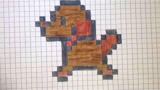 Pixel Art Pate De Chien Univerthabitat