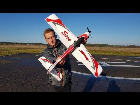 Стабильный самолет OMPHOBBY S720 для новичков и спортивный для профи. 2 в 1
