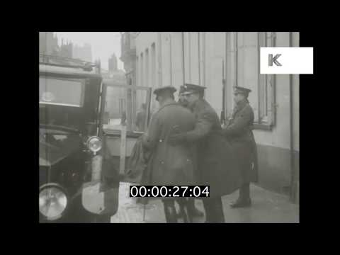 1910s Lord Kitchener Leaving General Headquarters | Kinolibrary
