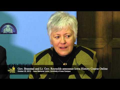 Branstad, Mason announce plans for Iowa history course, website
