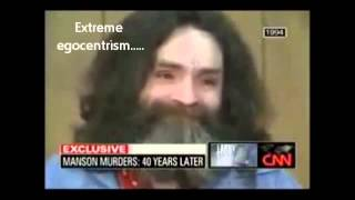Charles Manson: Antisocial Personality Disorder