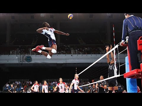 Winning Attacks in Volleyball (HD)