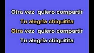 ABBA - Chiquitita (Español) Karaoke