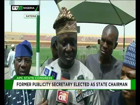 Ex-Publicity Secretary emerges Katsina APC Chairman