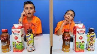 Twin Telepathy Milkshake Challenge!