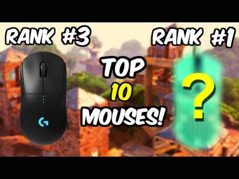 The 10 Best Mouse For Fortnite! To Help You Become A Pro Player!