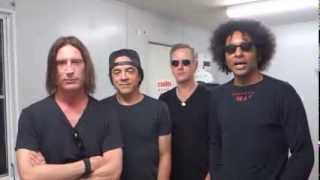 ALICE IN CHAINS Singapore Rock Festival GREETING VIDEO