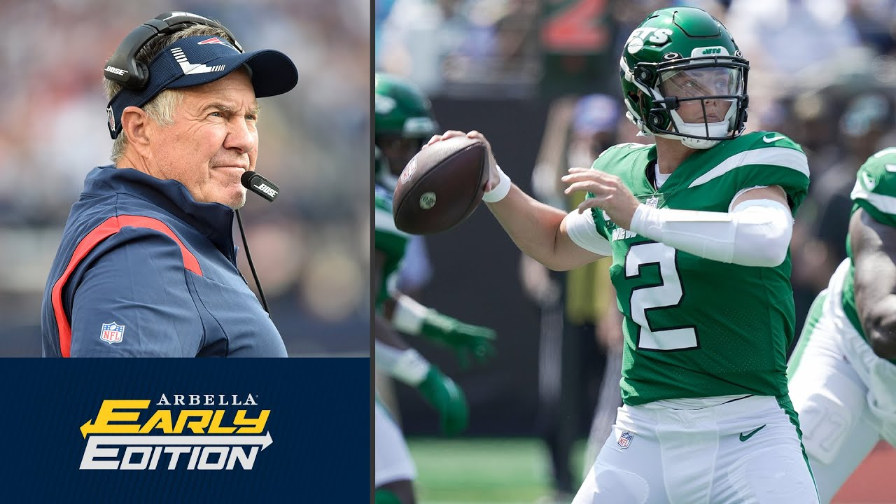 Belichick vs. the rookie: Who has the edge? | Previewing Patriots-Jets matchup | NBC Sports Boston