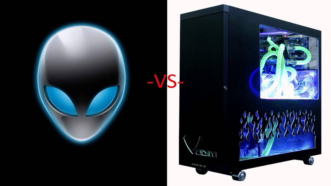 alienware vs custom gaming pc is alienware worth it youtube. Black Bedroom Furniture Sets. Home Design Ideas