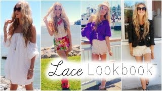 For the Love of Lace | End of Summer Lookbook |