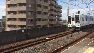 【鉄道動画】小菅駅にて 東武634系「スカイツリートレイン」通過シーン