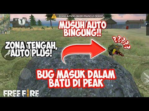 MANTUL!!! BUG MASUK KE DALAM BATU DI PEAK - Garena Free Fire Indonesia - 동영상