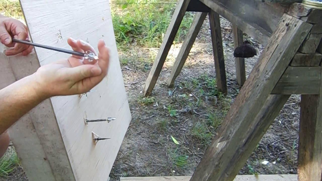 Arrow weight effects arrow penetration