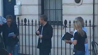 Sherlock Series 3 Filming