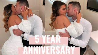 OUR 5 YEAR ANNIVERSARY - VLOG