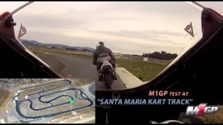 M1GP Pre-Season Test at Santa Maria Kart Tack