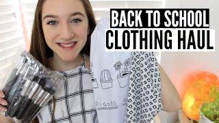 Back To School Clothing Haul! 2015