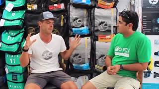 2018 Cabrinha Switchblade interview with Nick Jacobsen at FORCE Kite and Wake
