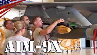 F-35A AIM-9X Sidewinder Air-to-Air Missile Underwing Pylon Load - F-35A戦闘機 空対空ミサイルの翼下パイロン取り付け