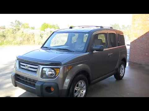 2007 honda element start up full tour and driving youtube. Black Bedroom Furniture Sets. Home Design Ideas