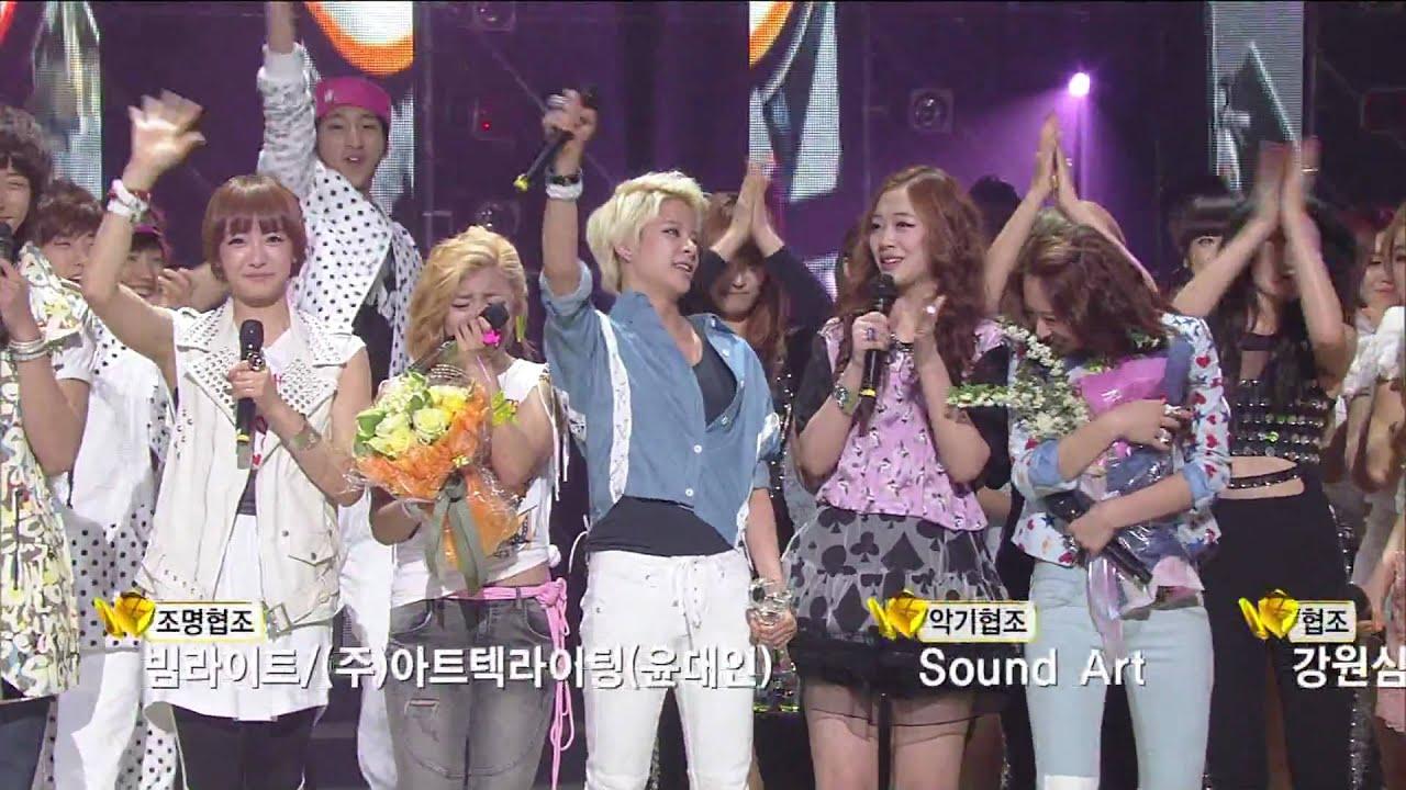 Download 110429 KBS MUSICBANK f(x) is winner!!!!!!!!!!!