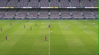 [PS3] PES 2011 Demo Gameplay | Barca Vs. Bayern Munich (Part 1/2)