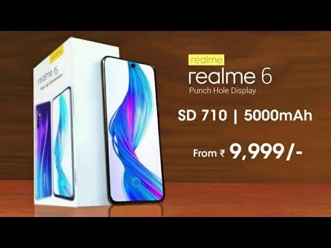Realme 6 - Snapdragon 710, 5000mAh Battery, Quad Camera   Realme 6