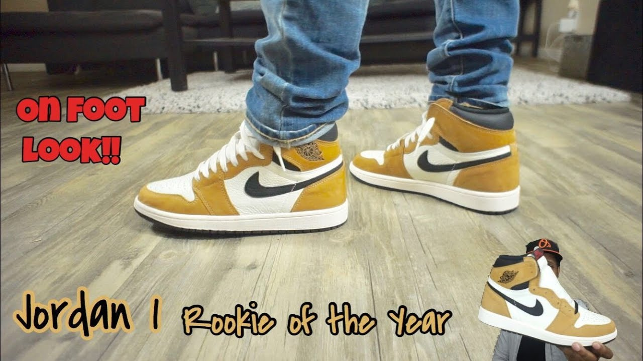 online here outlet store online here Jordan 1 Rookie Of The Year (ROY) On Feet!!