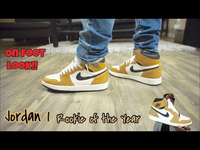 Jordan 1 Rookie Of The Year (ROY) On Feet!!