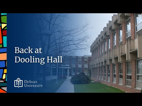 9. Back at Dooling Hall, DeSales University