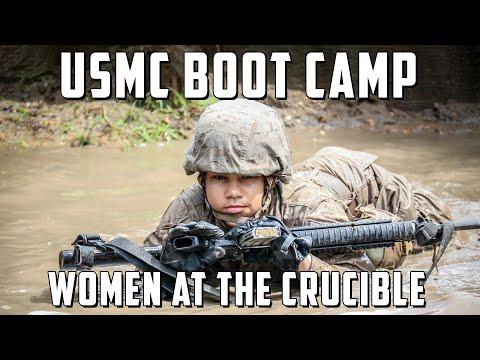 Marine Corps Boot Camp - The Crucible - Women