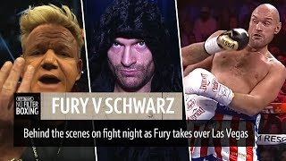 Fury v Schwarz behind the scenes on fight night | No Filter Boxing episode