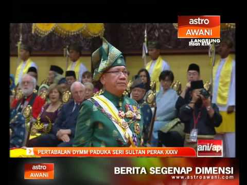 Majlis Tabal Adat DYMM Paduka Seri Sultan Perak XXXV