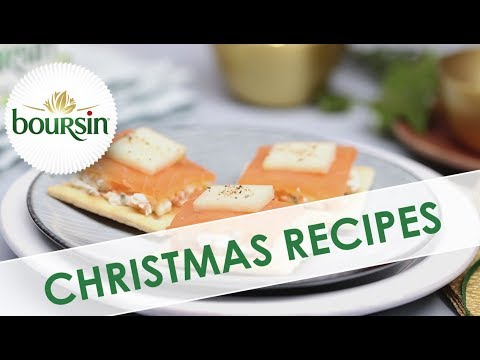Smoked Salmon Duets | Christmas Recipes By Boursin