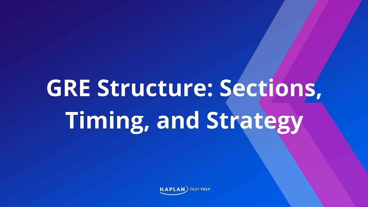 Download About the GRE: Sections, Timing, and Strategy | Kaplan Test Prep