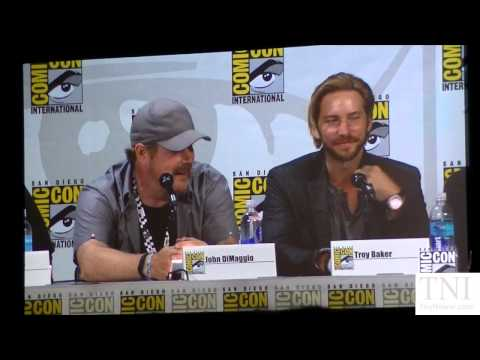 Troy Baker VS John DiMaggio Joker Laugh Off At Batman Assault On Arkham SDCC 2014 Panel
